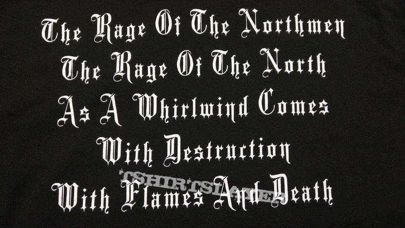 IN BATTLE - The Rage Of The Northmen (T-Shirt)