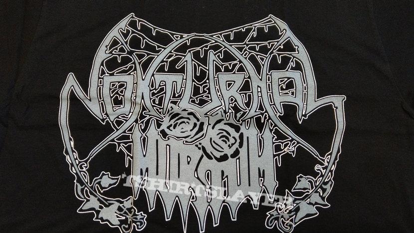 NOKTURNAL MORTUM - Logo Lunar Poetry Era (T-Shirt)