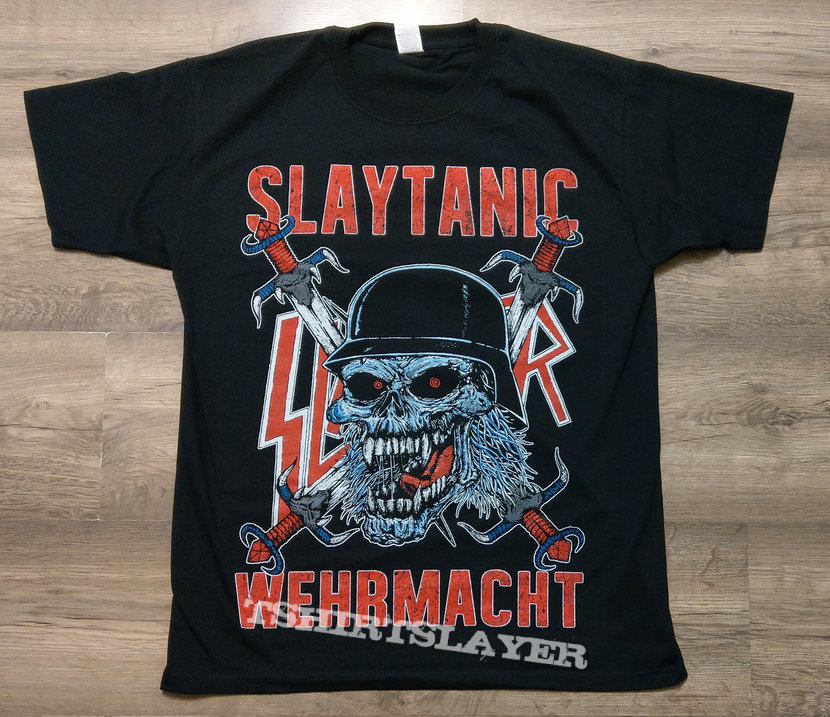SLAYER - Slaytanic Wehrmacht (T-Shirt)
