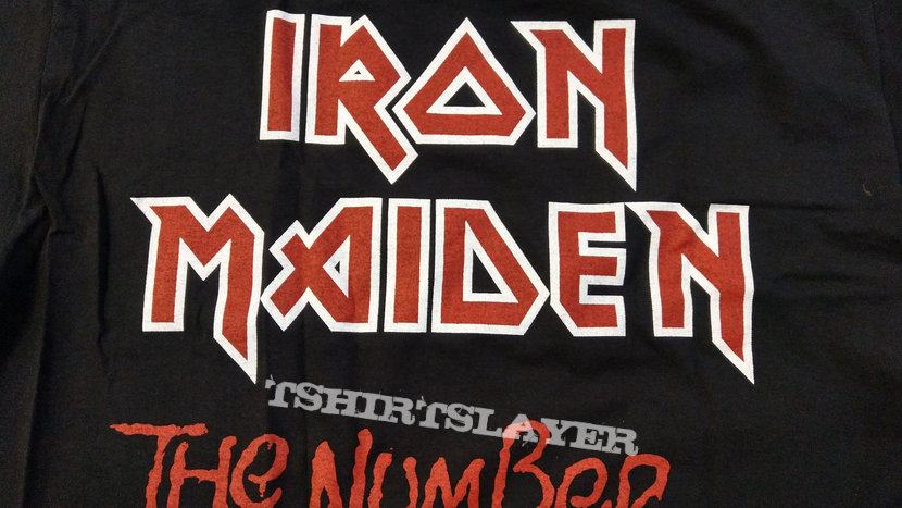 IRON MAIDEN - The Number of the Beast (Longsleeve T-Shirt)