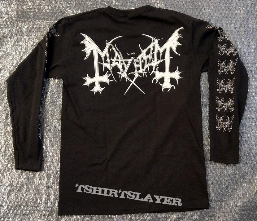 MAYHEM - De Mysteriis Dom Satanas (Longsleeve T-Shirt)