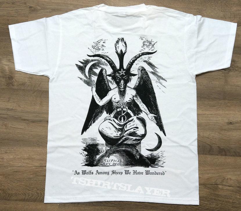 DARKTHRONE - Logo (T-Shirt) Baphomet
