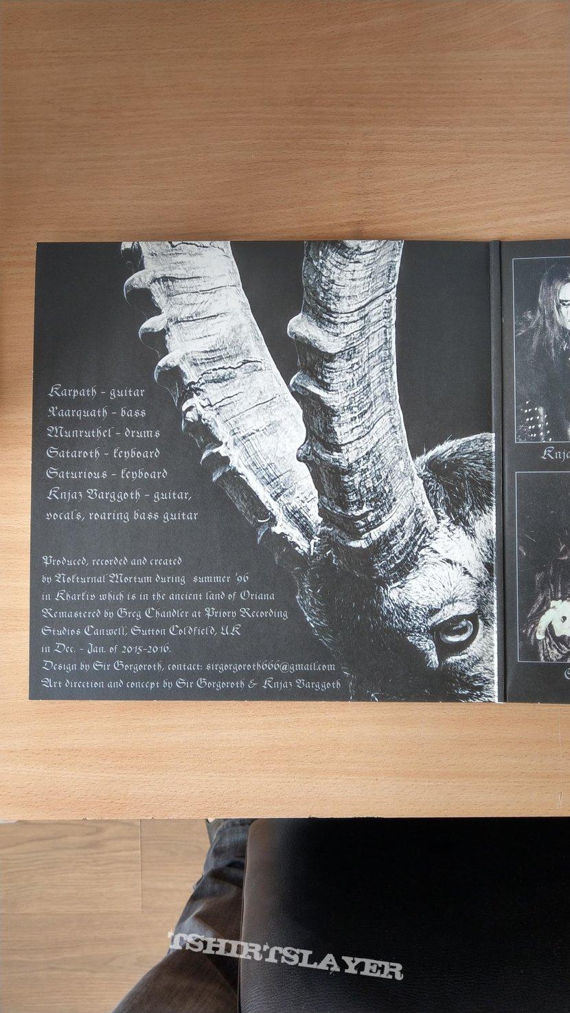 Nokturnal Mortum – Goat Horns (Transparent Swamp Green Vinyl)
