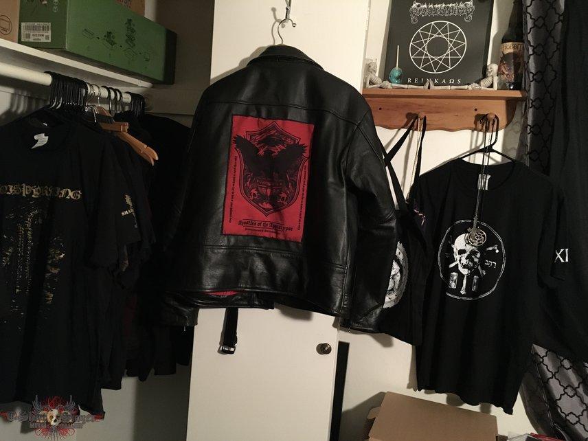 Black Shining Leather
