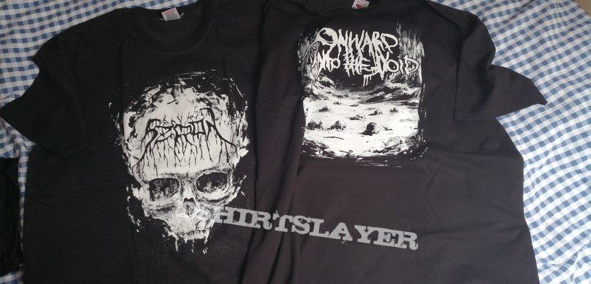 2x Szron - Onward into the Void T-shirt