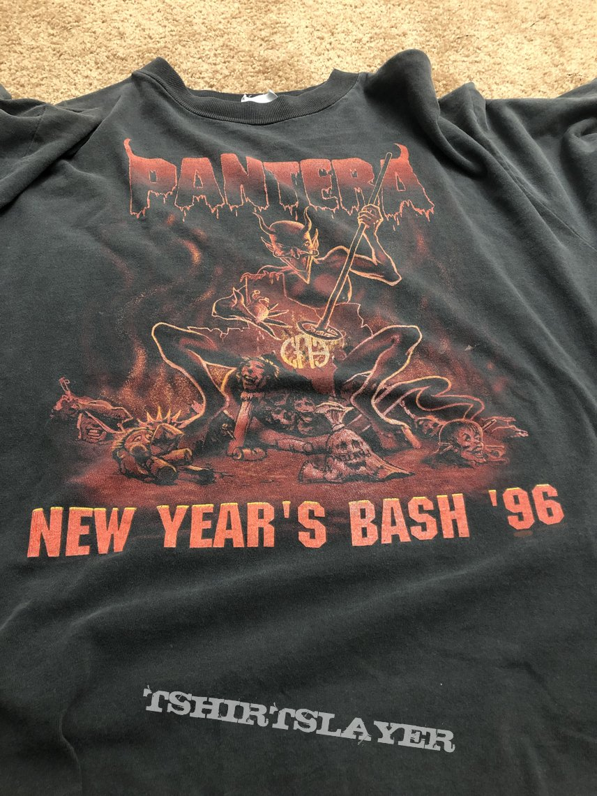 Pantera New Year's Eve ass branded shirt