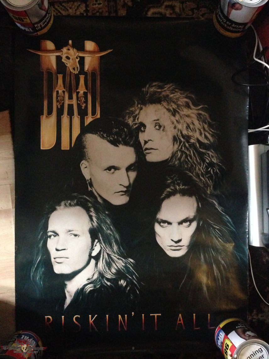 Riskin' It All promo poster from USA 1992