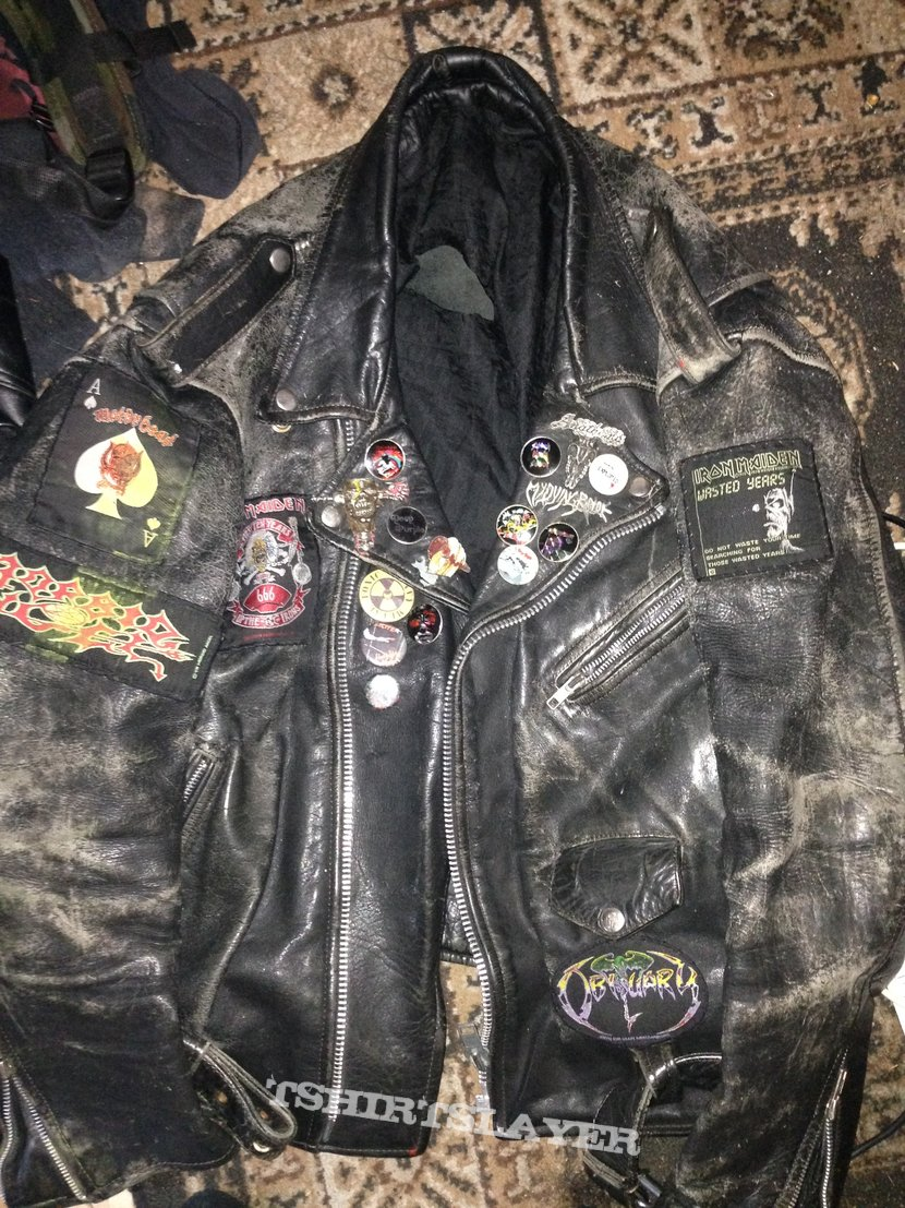 My main leather jacket