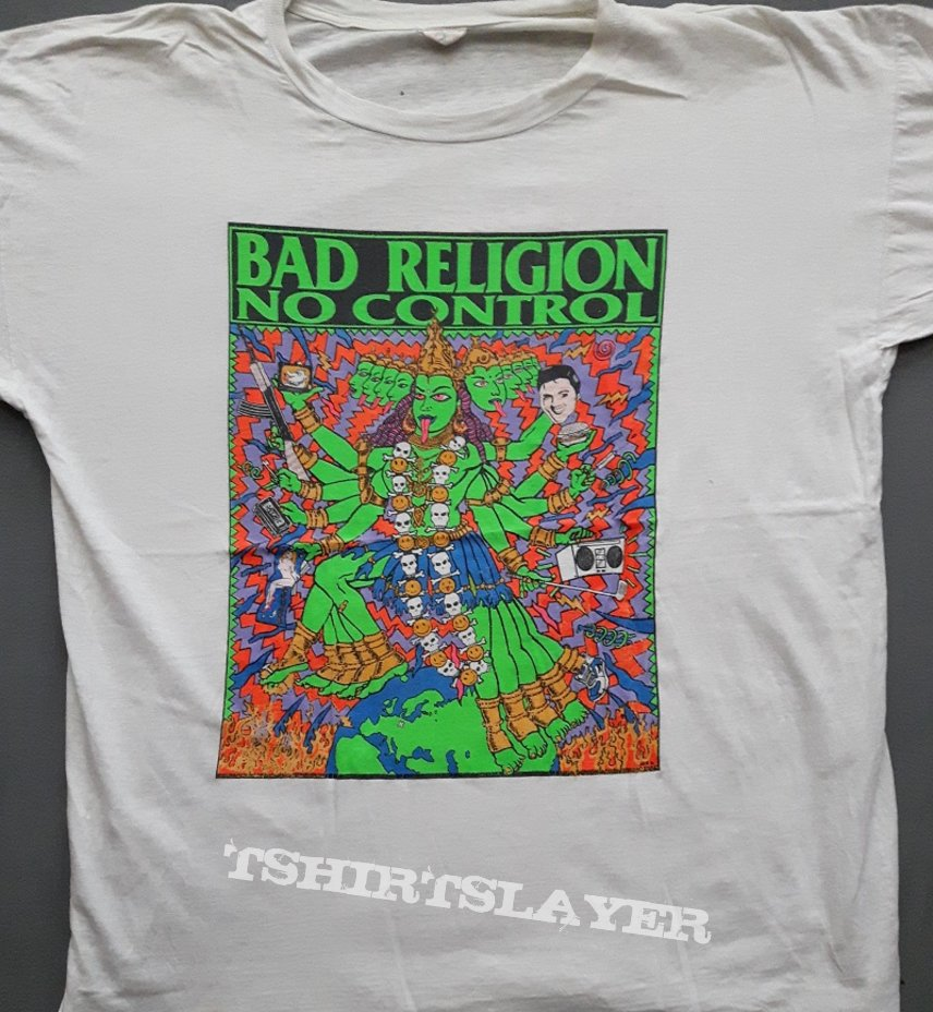bad religion no control tour 39 90 tshirtslayer tshirt and battlejacket gallery. Black Bedroom Furniture Sets. Home Design Ideas