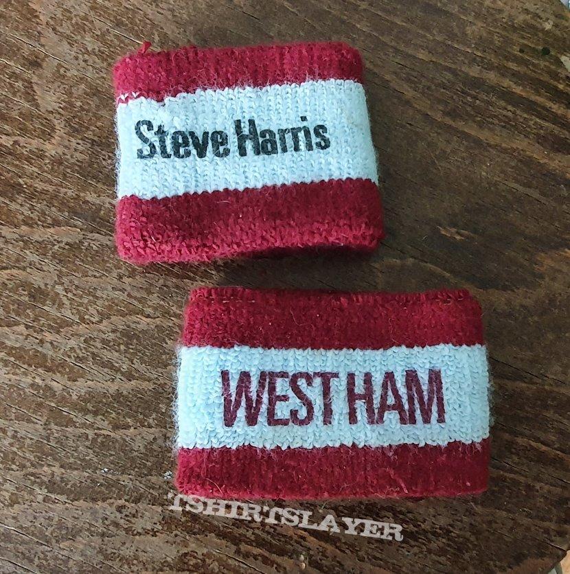 Steve Harris wrist bands
