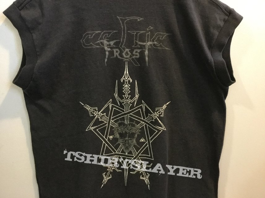 "Vintage ""To Mega Therion"" sleeveless t-shirt"