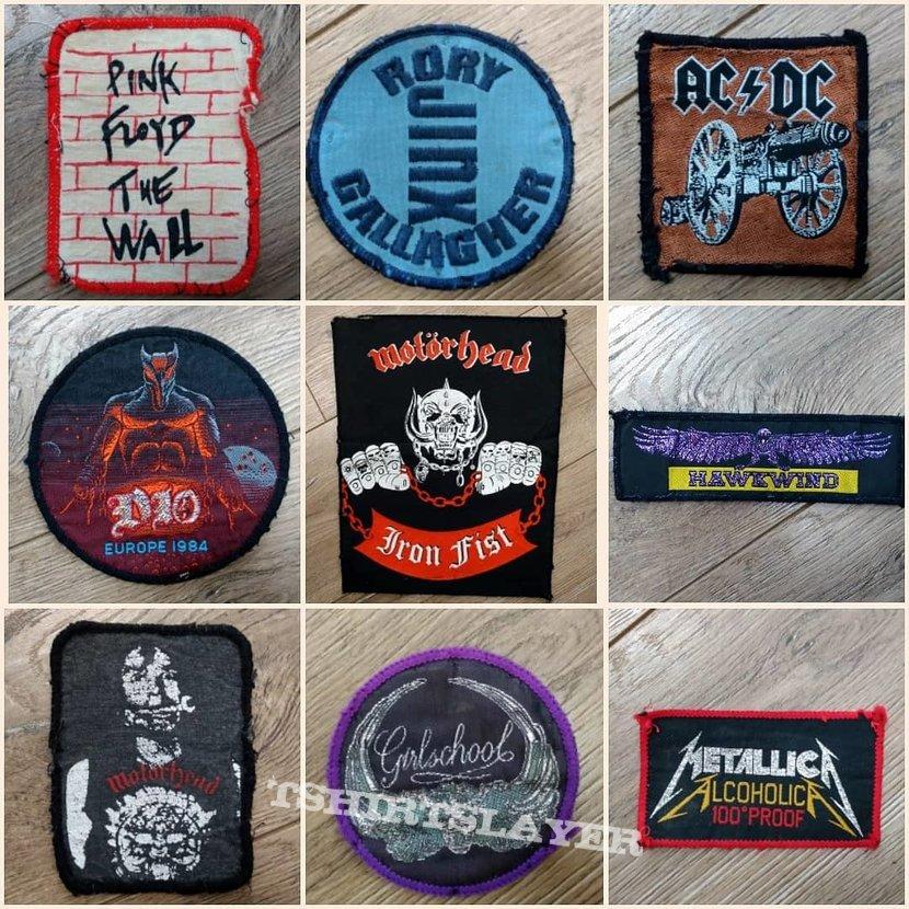 Vintage patches