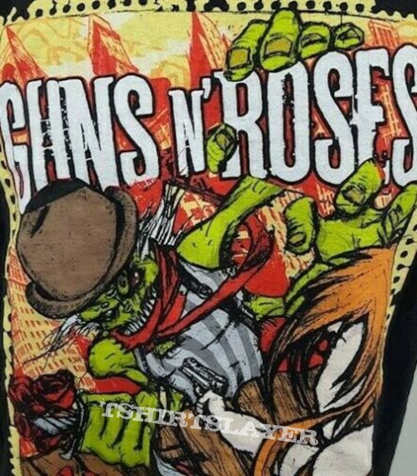 **RARE** 2011 GUNS N' ROSES North American Tour Tshirt size XL *FREE SHIPPING in US*