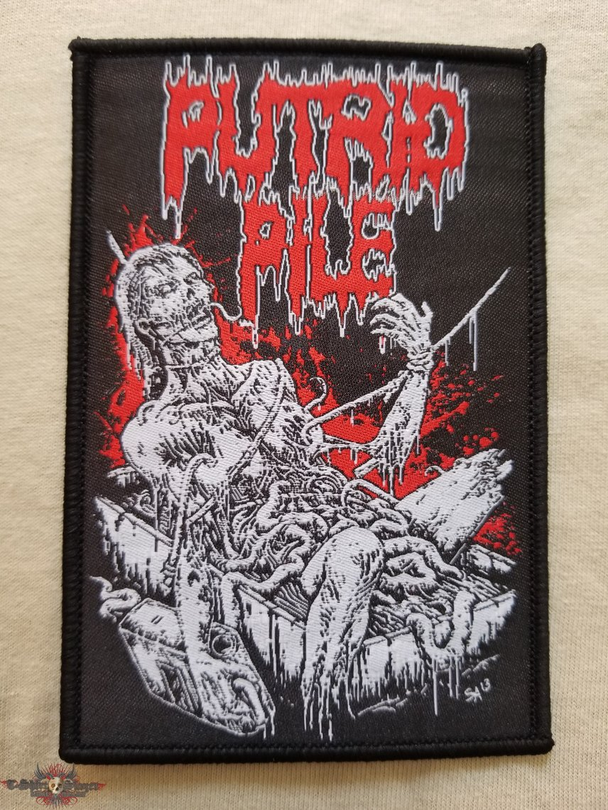 Putrid pile woven patches