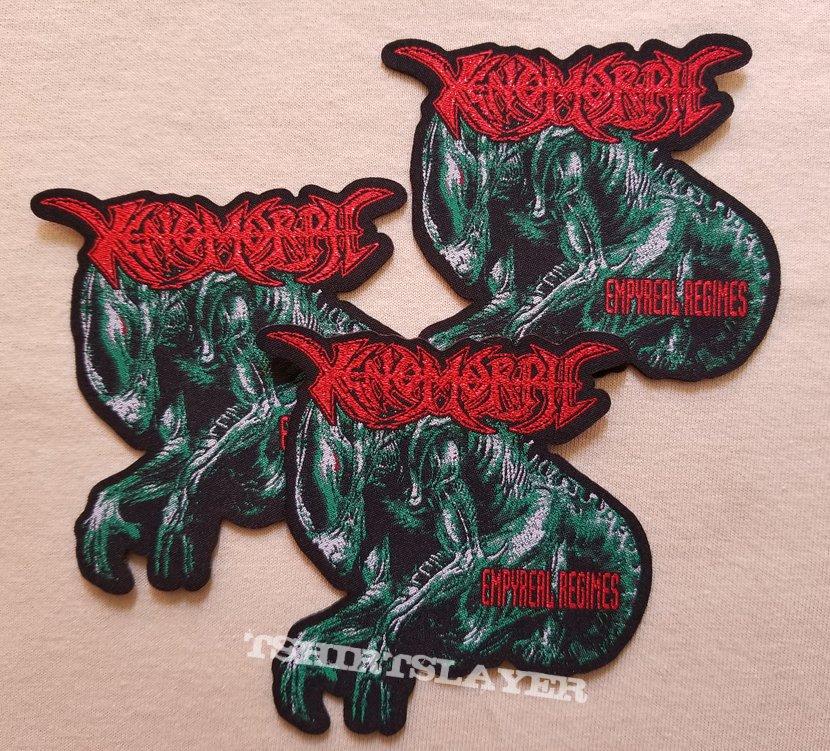 Xenomorph woven patches