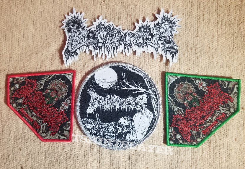 Galvanizer woven patches