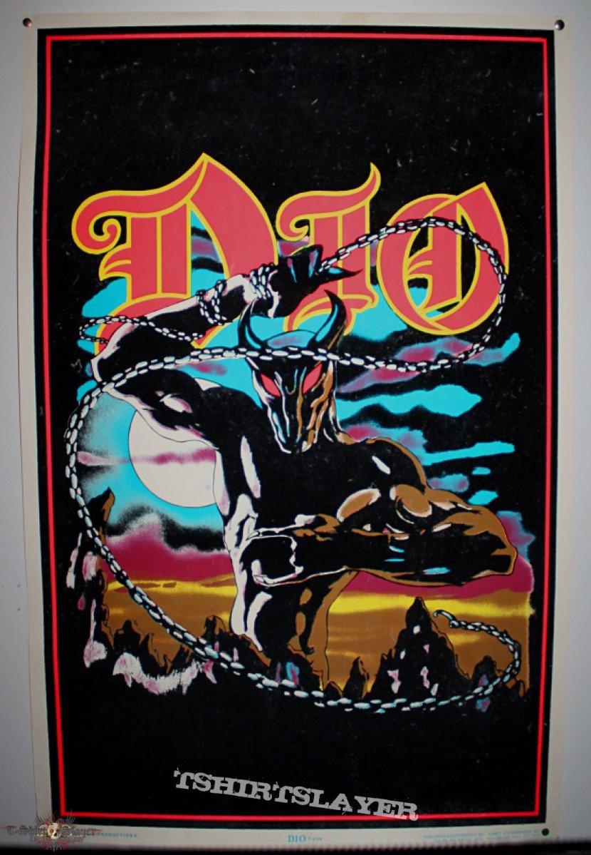 80's Metal Black Light Posters