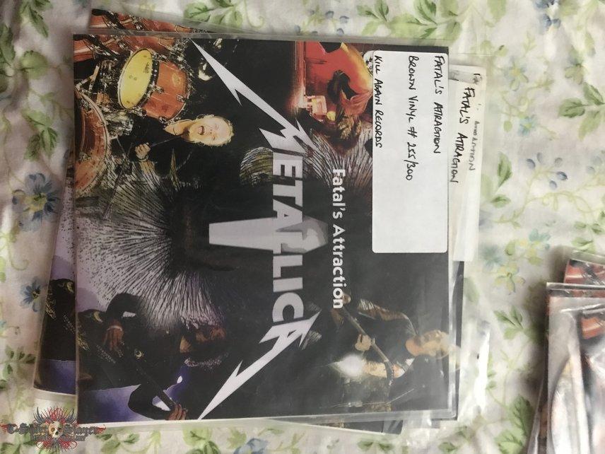 "Metallica fatals attraction set including #01 test press 7"""