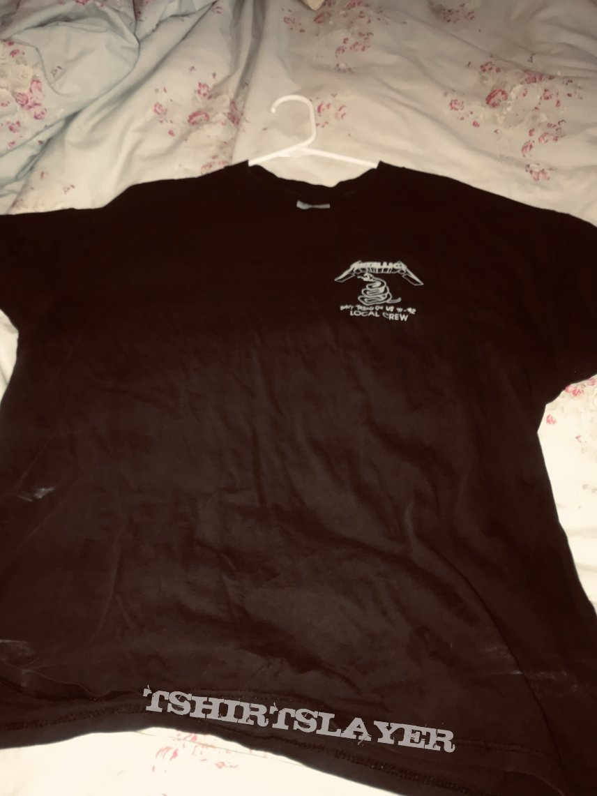 Metallica 1991 crew shirt