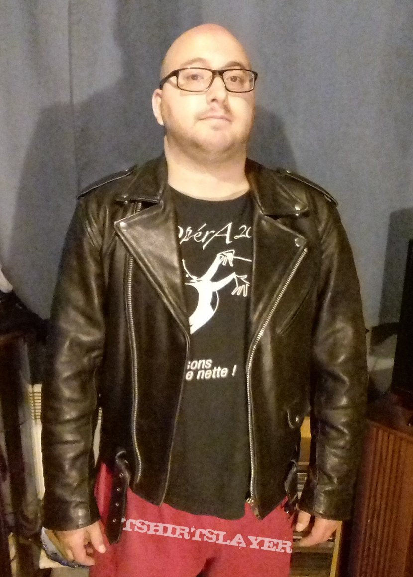 My leather jacket (Re-Upload)