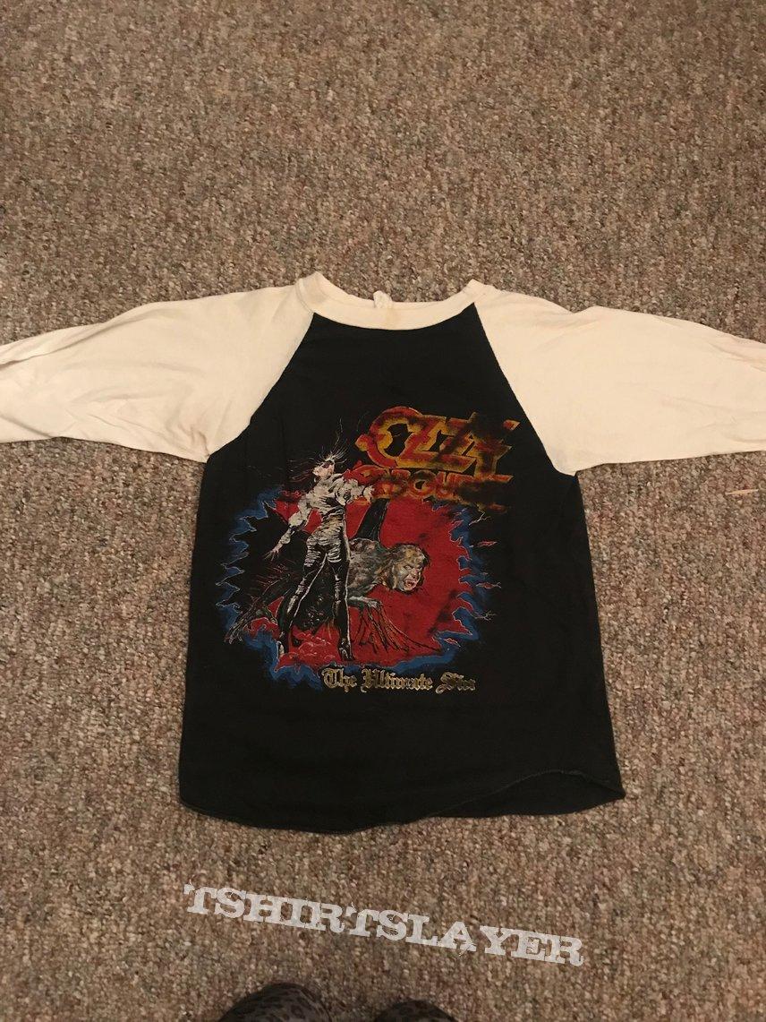 Ozzy / Metallica Split Shirt