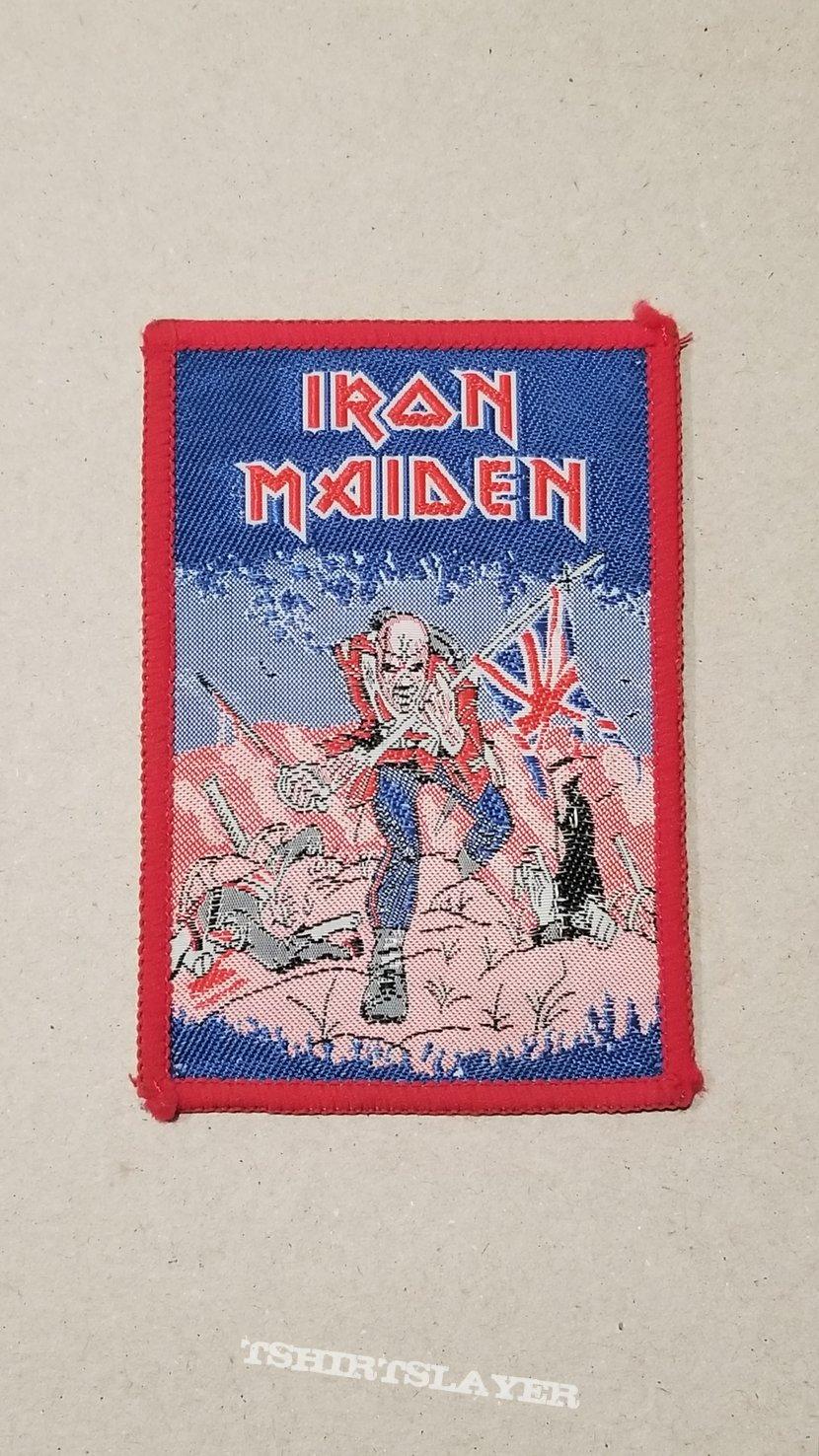 Vintage Iron Maiden Bubble Gum Patch