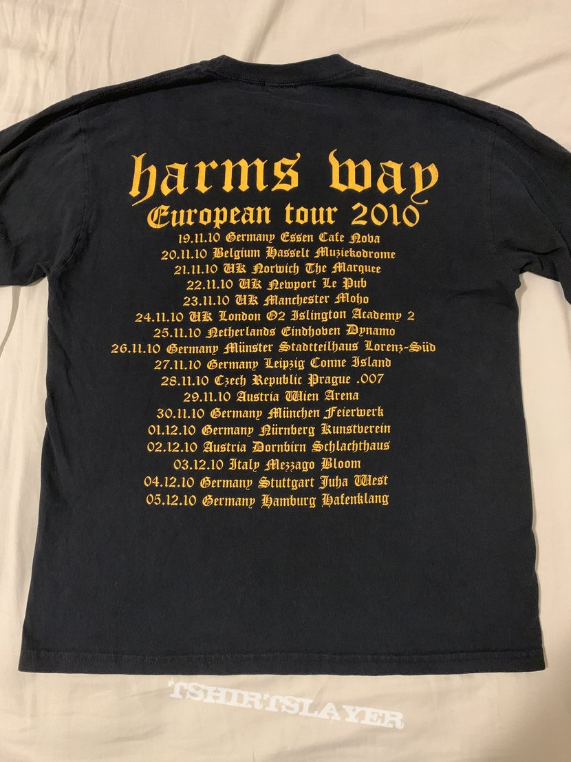 Harms way 2010 European Tour