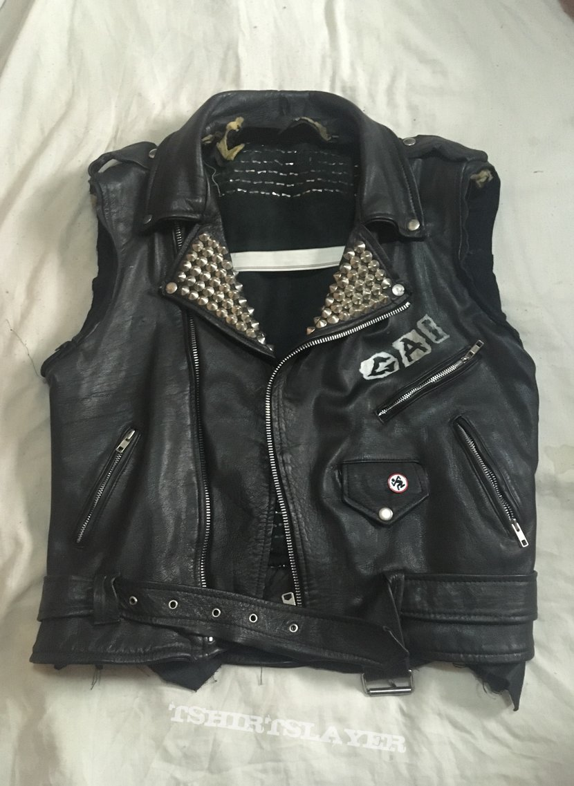 Leather cut off