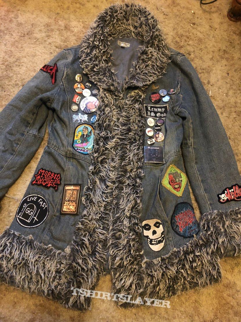 Unconventional battle jacket progress