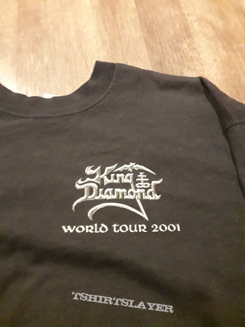Vintage King Diamond 2001 World Tour longsleeve
