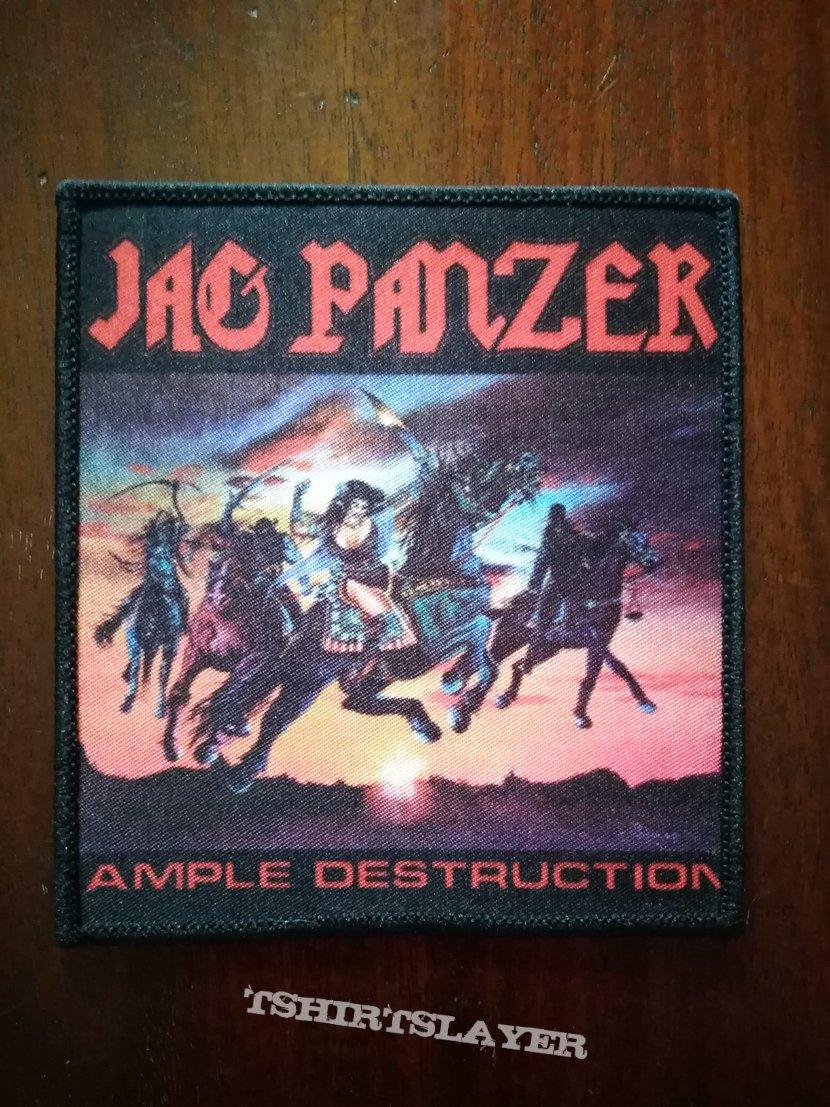 Jag Panzer woven patch (Ample Destruction)