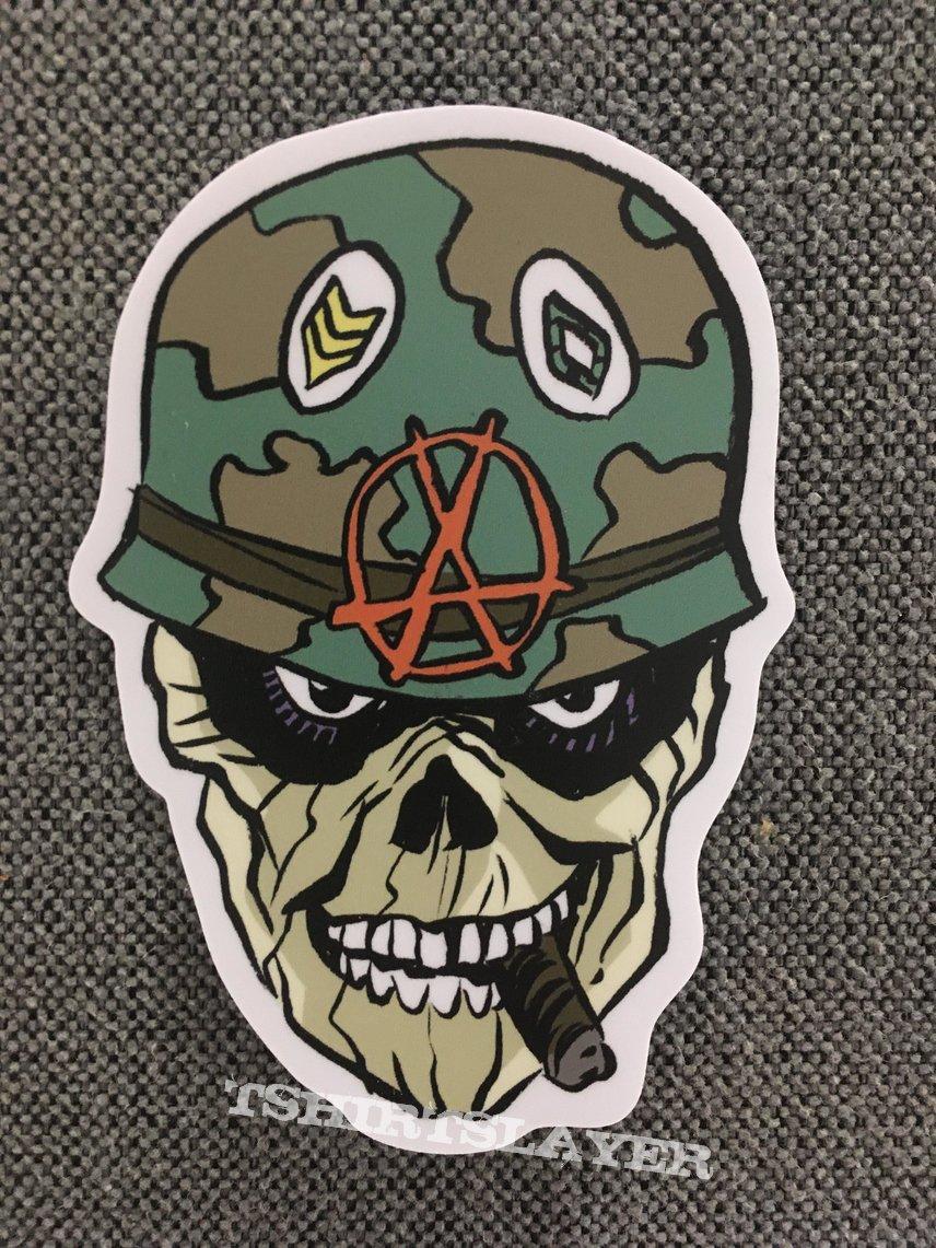 S.O.D. Sergeant D. Sticker