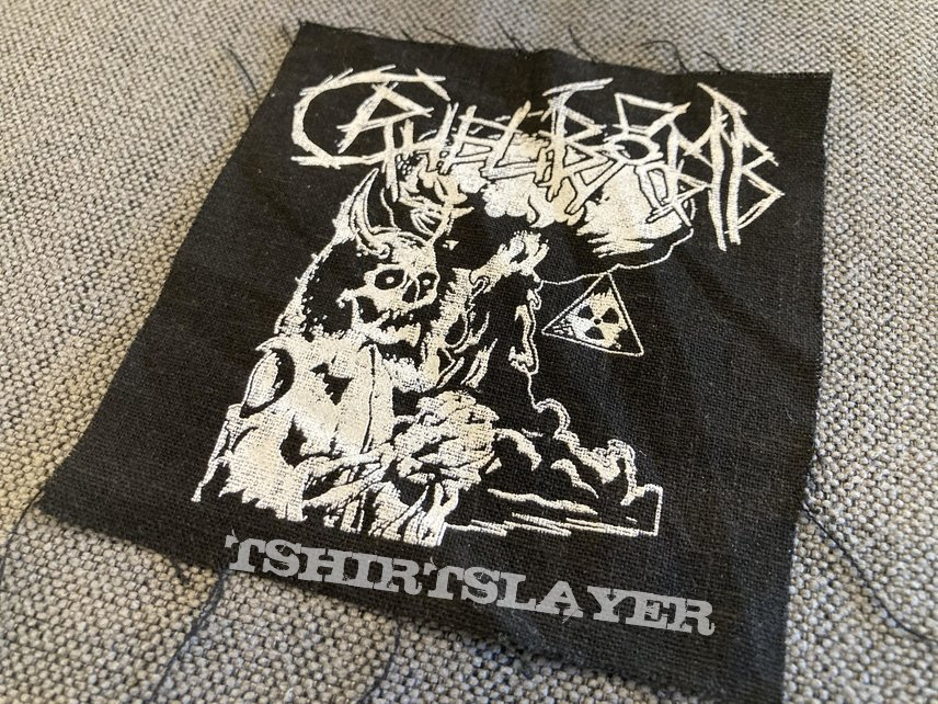 Cruel Bomb Official Printed Patch