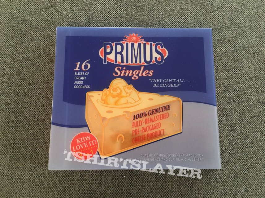 Primus - They Can't All Be Zingers Compilation CD