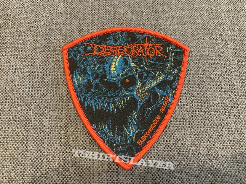 Desecrator - Subconscious Release Official Woven Patch