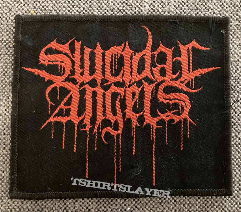 Suicidal Angels Woven Logo Patch