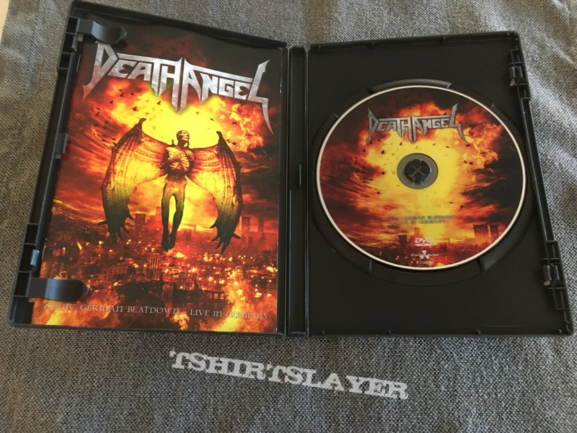 Death Angel Live In Germany DVD
