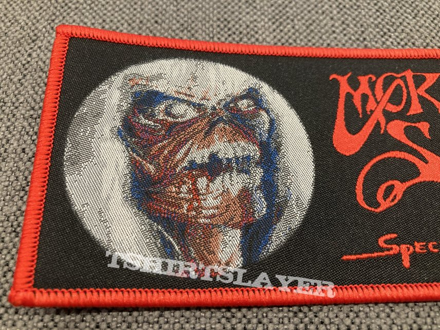 Official Morbid Saint - Spectrum Of Death Woven Strip Patches | Crying For Death Release #1