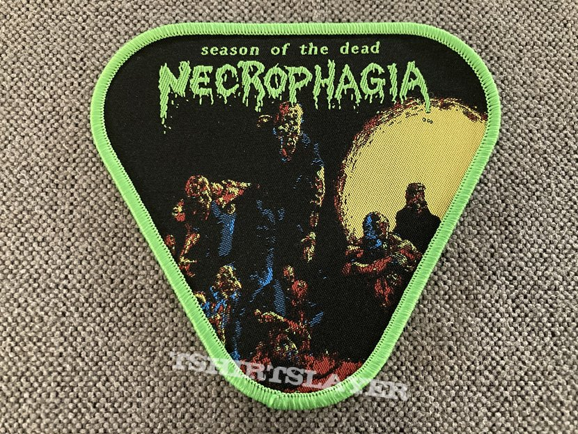 Necrophagia - Season Of The Dead Official Woven Patch