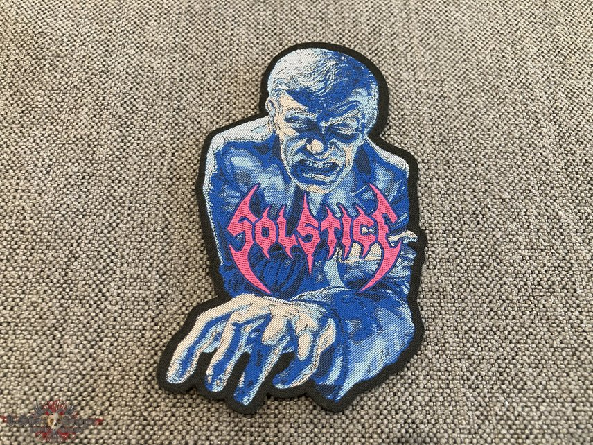 Solstice - The Sentencing Official Woven Patch