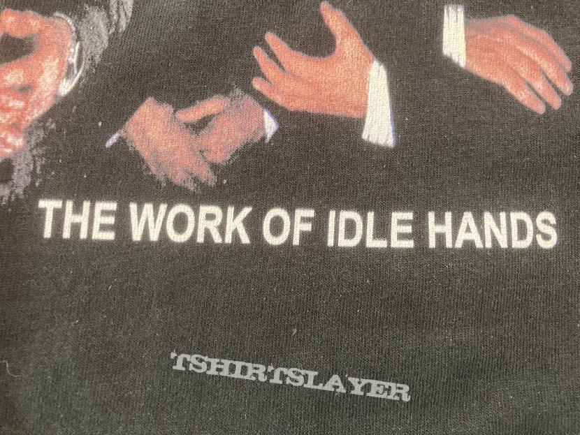 Slammer - The Work Of Idle Hands Shirt