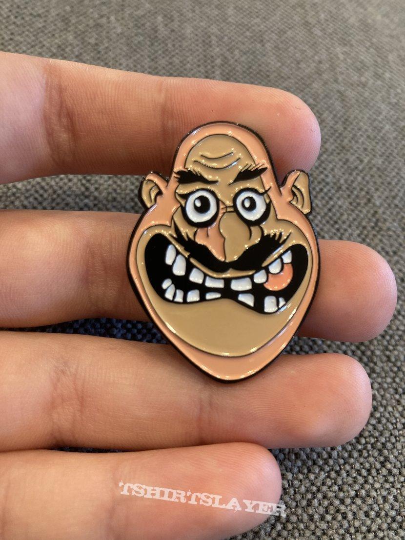 Anthrax Not Man Pin