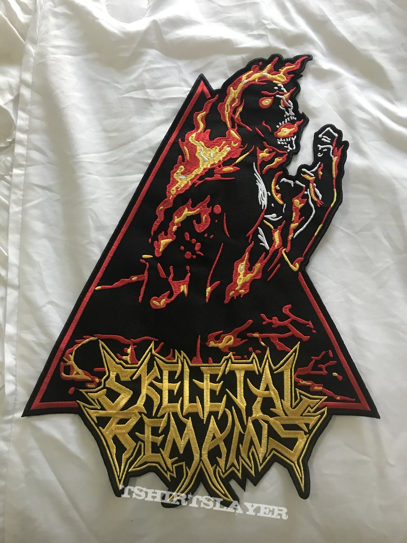 Skeletal Remains Condemned To Misery Backpatch