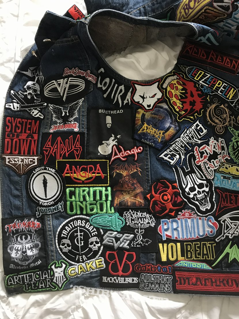 """The Very """"Unconventional"""" Battle Jacket (WIP) UPDATE #2"""