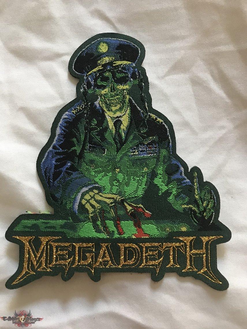 Megadeth Rust in Peace Die Cut Bootleg