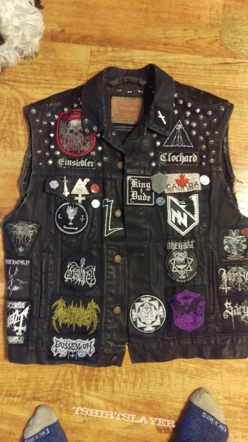 Finalized Super Duper Black Metal Trooper Vest