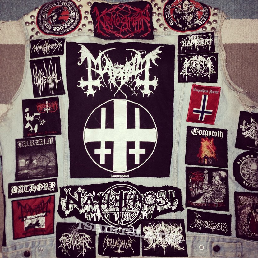 Updated Black Metal Vest