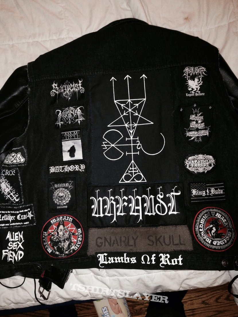 Leather Jacket with new Battle Vest
