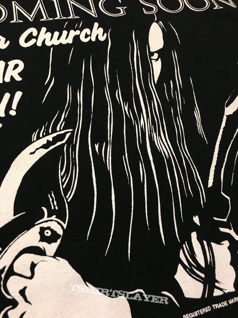 Burzum Coming Soon To A Church Near You (Burzum Tour 92') T-Shirt