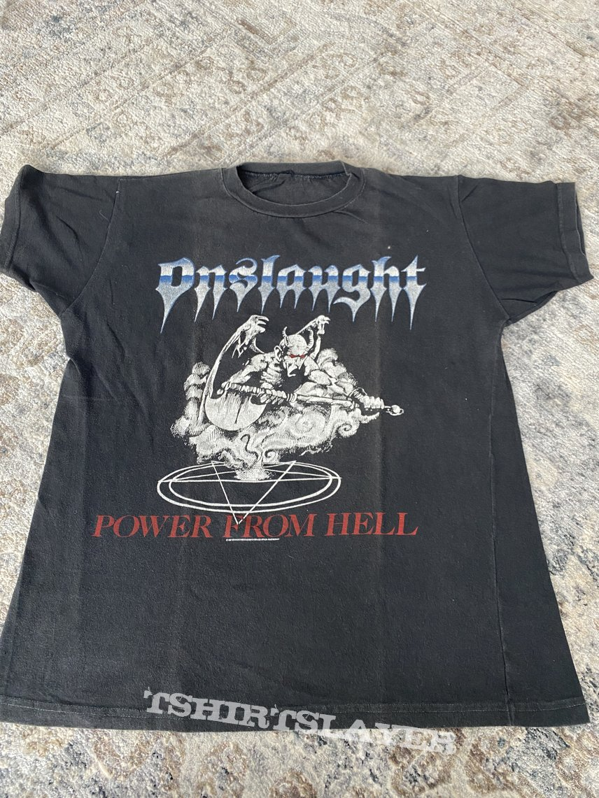 Onslaught 1987 Power From Hell - The Force shirt
